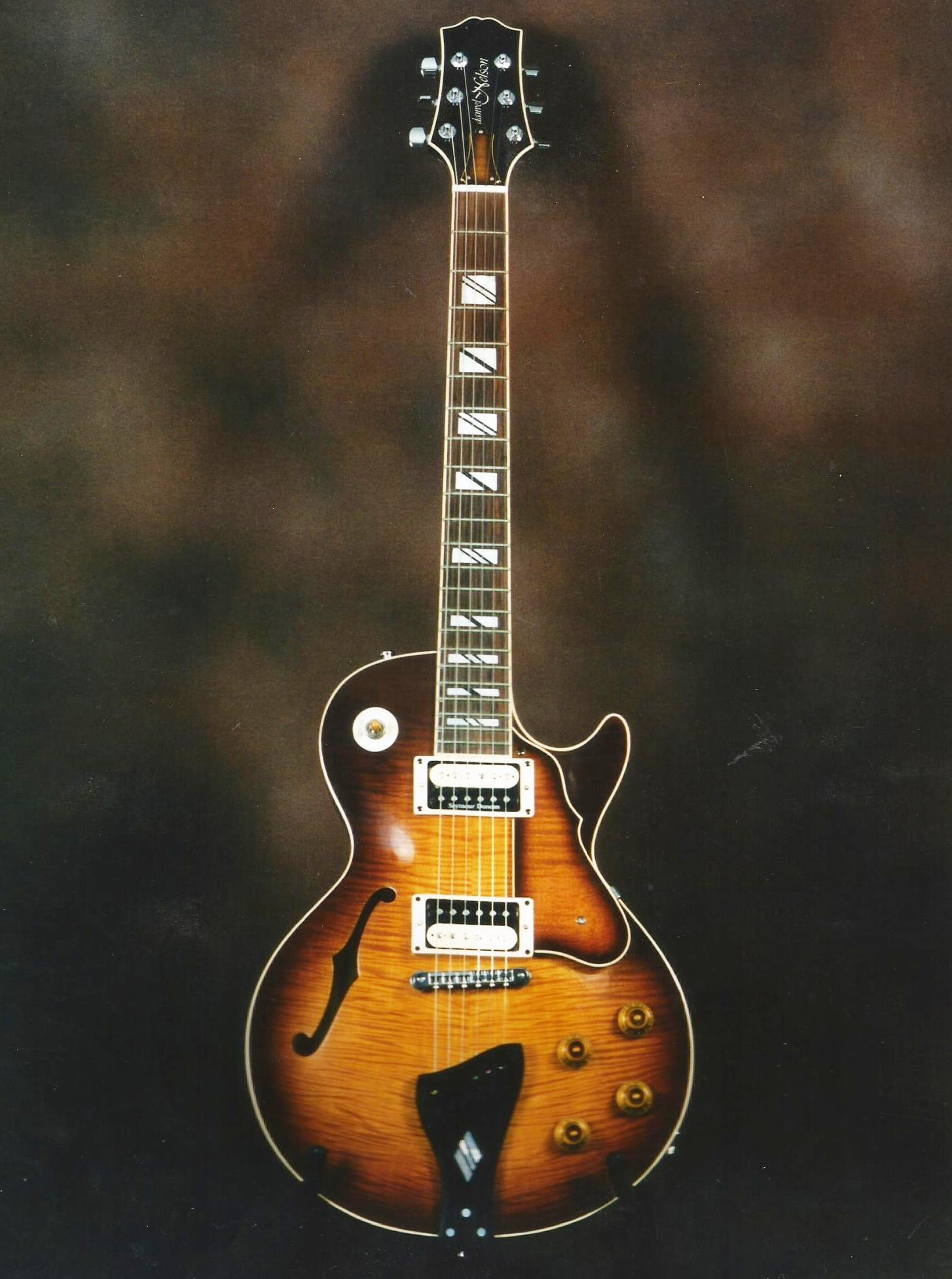 Les Paul semi solid type Guitar