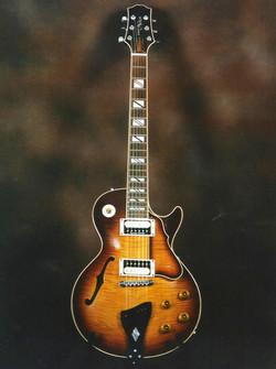 Les Paul semi solid type Guitar
