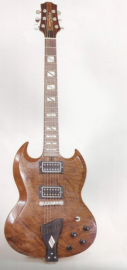 S G style guitar by Danvel
