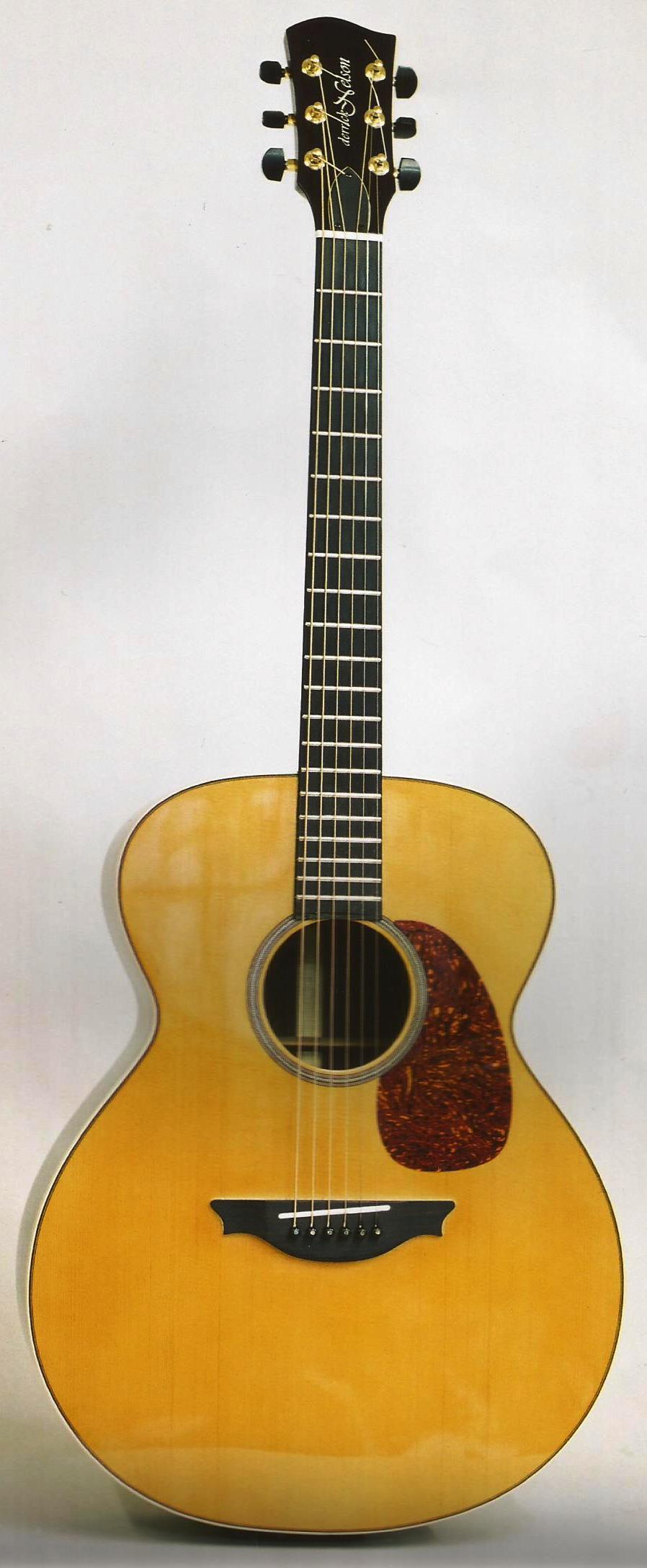 Danvel Jumbo Steel String Guitar