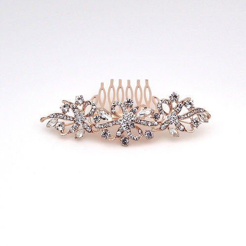 Jewelled Hair Clip with comb