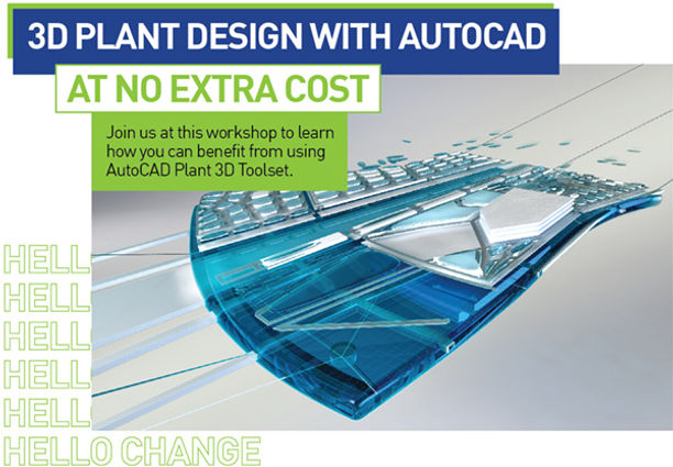 AutoCAD Plant 3D Workshop for Free | Engineering Solutions