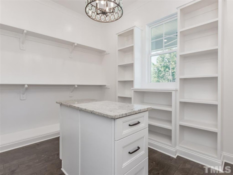 The Woodland - Owners Suite Walk-In Closet
