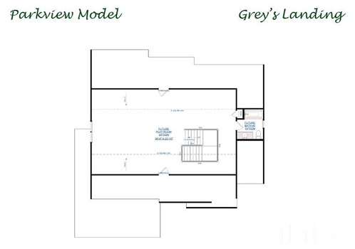 The Parkview - Third Floor Layout