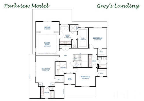 The Parkview - Second Floor Layout