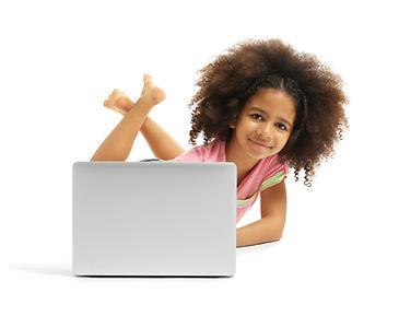 happy girl online tutor dyscalculia math dyslexia reading spelling