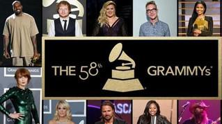 Los Mejores Momentos de la Ceremonia No. 58 de los Premios Grammy
