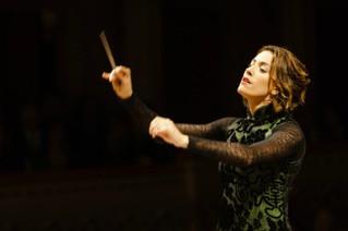 Alondra de la Parra y su Orquesta Filarmónica de las Américas en la Gran manzana