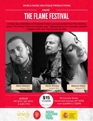 'The Flame Festival' un festival que abrió las puertas al jazz y al Flamenco en un solo escenario d