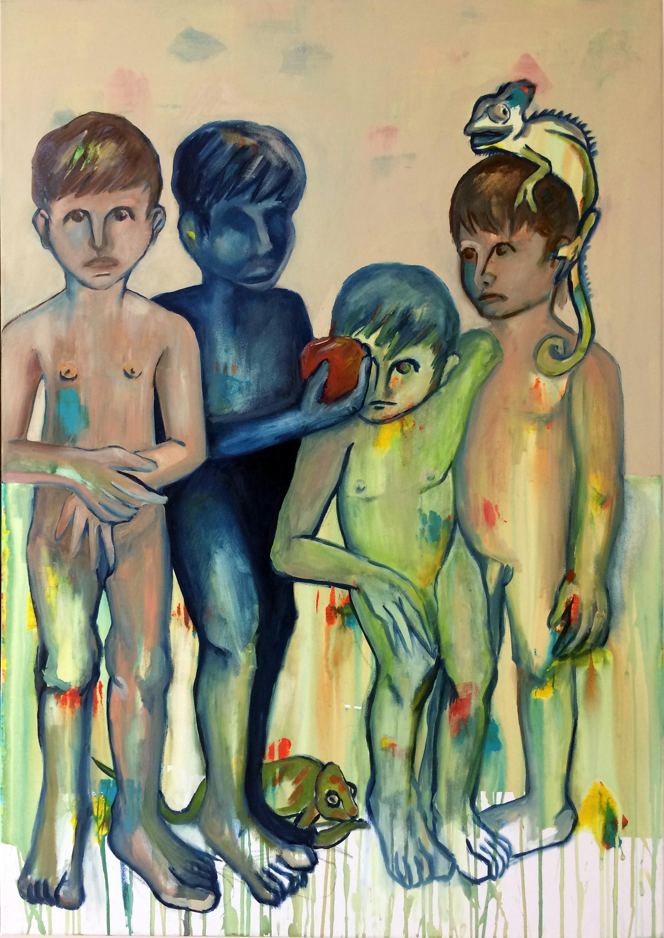 Çocuklar ve Elmalar III