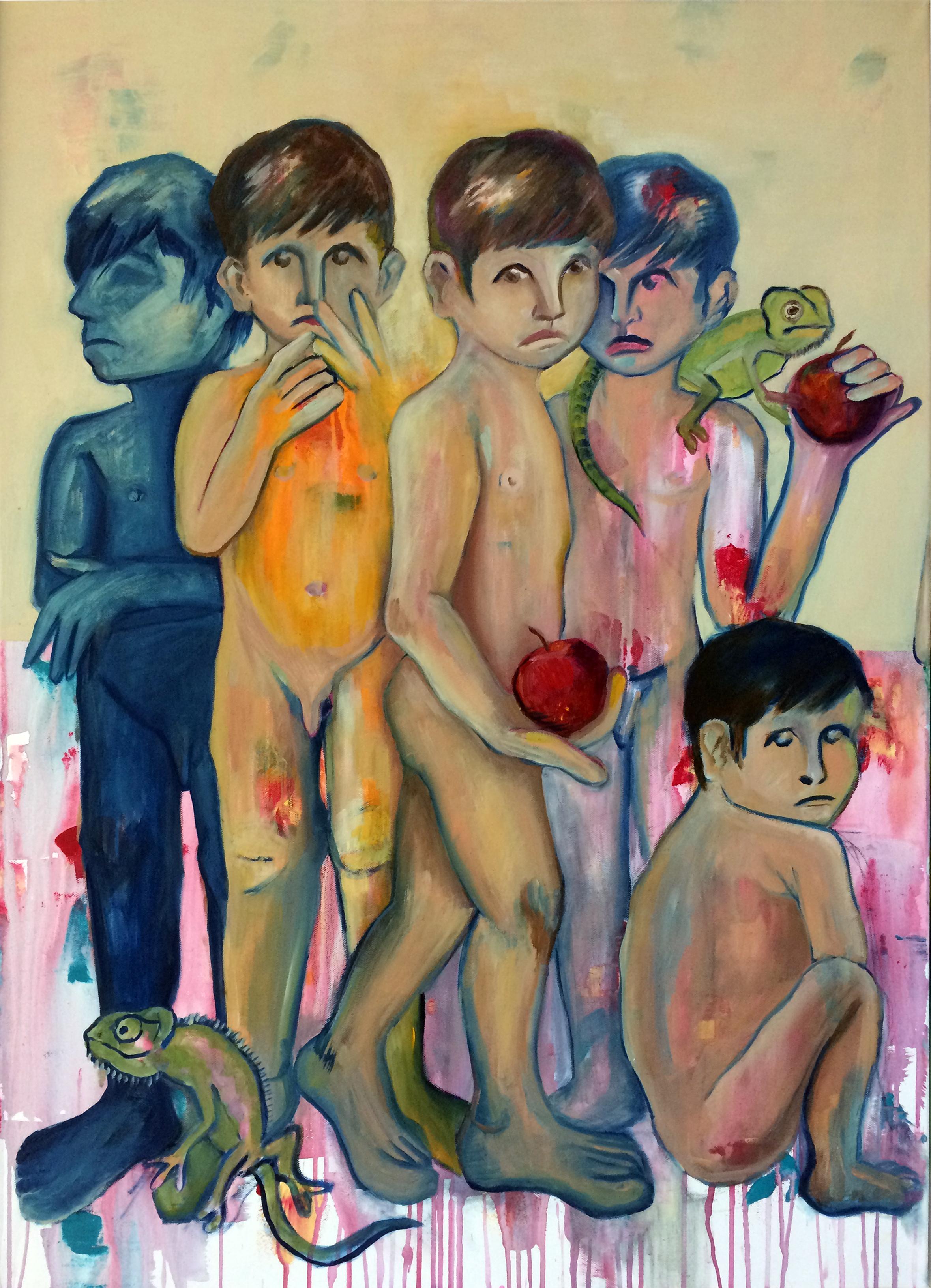 Çocuklar ve Elmalar II