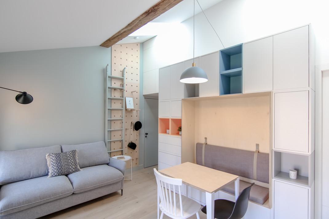 January architecte d'intérieur Bordeaux Aménagement sur mesure Studio