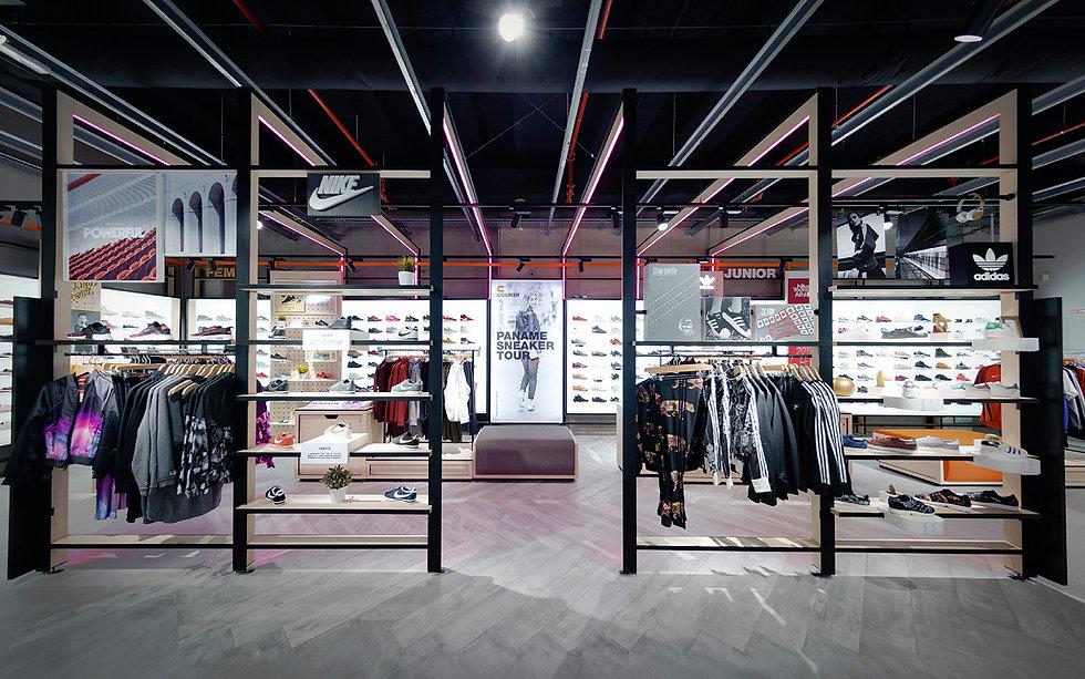 architecte d'intérieur Bordeaux Réalisation Courir Forum Les Halles Paris
