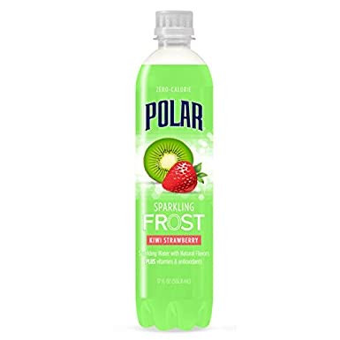 Polar Sparkling Frost - Kiwi Strawberry 4 PACK