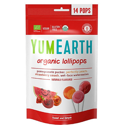 YUMEARTH Organic Lollipops - Small pack