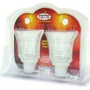 Crystal candle cups