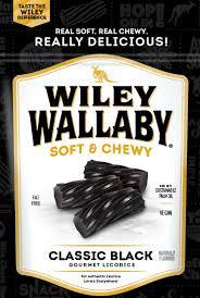 Wiley Wallaby Liquorice - Black