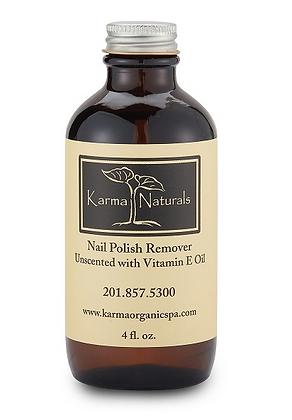 Unscented Nail Polish Remover with Vitamin E Oil