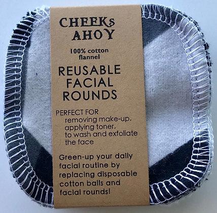 Reusable Facial Rounds