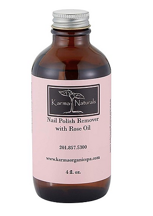 Karma Naturals Nail Polish Remover with Rose Oil