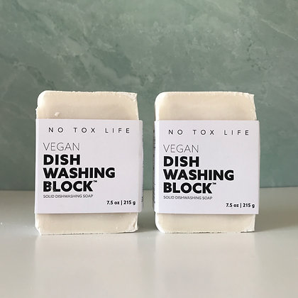 Zero Waste Dish Washing Block