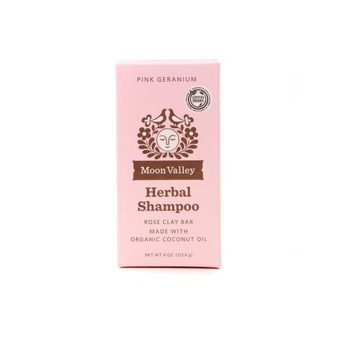 Herbal Shampoo Bar Pink Geranium