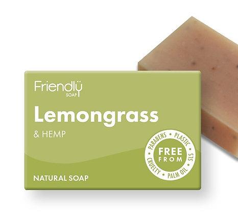 Lemongrass & Hemp Soap Bar