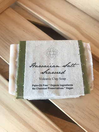 Hawaiian Salt Seaweed Soap Bar