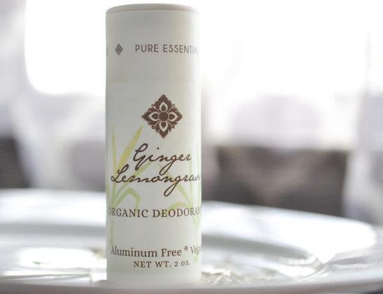 Ginger Lemongrass Deodorant