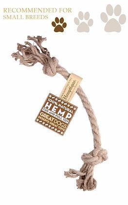 Hemp Rope Tug & Pull Dog Toy