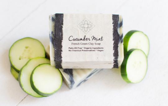 Cucumber Mint Soap Bar