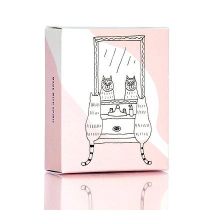 Pink Rose Clay Facial Soap Bar