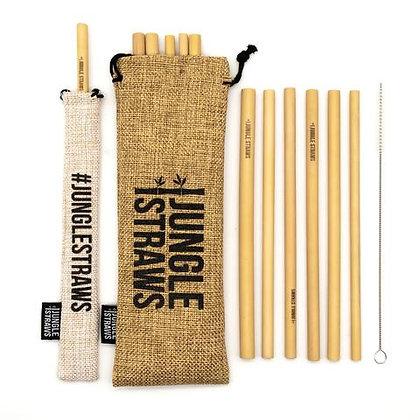 Jungle Straws 12-Pack