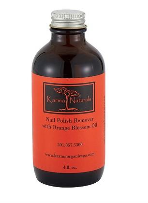 Soybean Oil Orange Blossom Nail Polish Remover