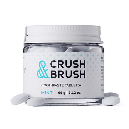 Crush & Brush Mint Toothtablets