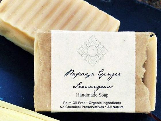 Papaya Ginger Lemongrass Soap