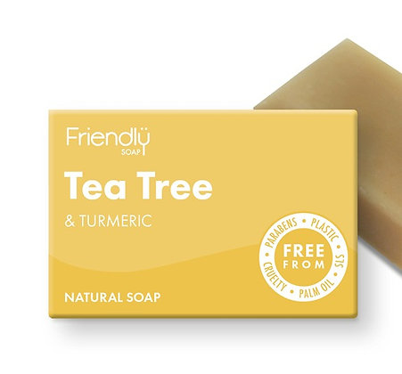 Tea Tree & Turmeric Soap Bar