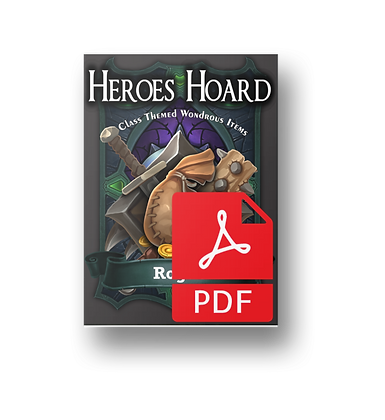 The Decks of the Heroes Hoard: Rogue PDF