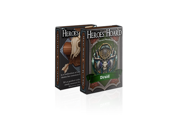 The Decks of the Heroes Hoard: Weavers of Magic