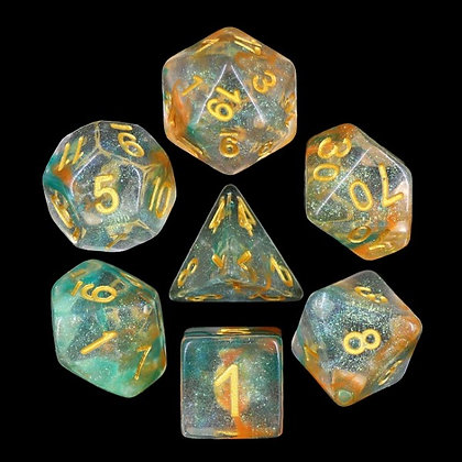 Luminous Koy Dice Set