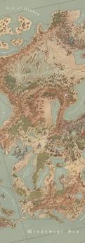 The Known Lands of Brislaban