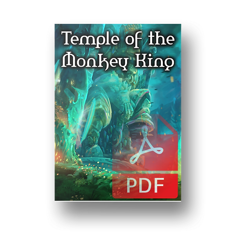 The Temple of the Monkey King - 5e Dungeon PDF