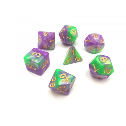 Spring Flower Dice Set