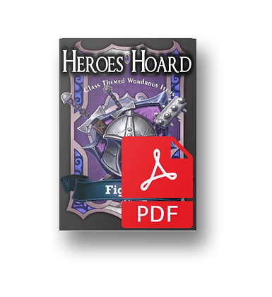 Deck of the Heroes Hoard: Fighter