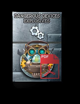 The Decks of Dangerous Devices - Explosives