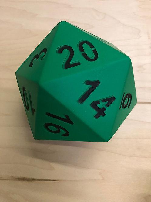 """Green Foam D20 - 5"""""""