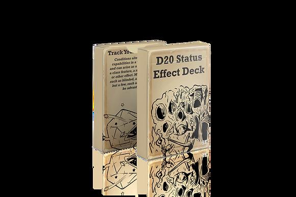 D20 Status Effect Deck