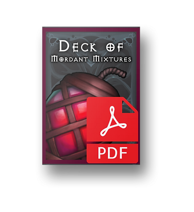 The Deck of Mordant Mixtures PDF