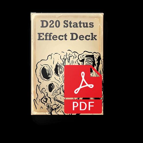 D20 Status Effect Deck PDF