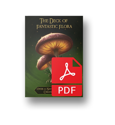 Deck of Compelling Consumables: Flora